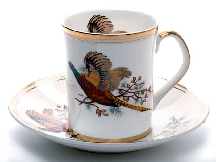 fine-china-pheasant design cup