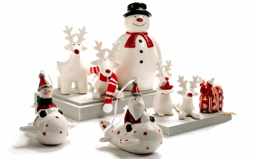 Ceramic-Christmas-Reindeers-santa-clause