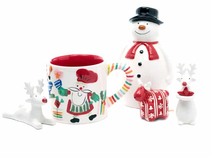 Eric the ceramic snowmans Christmas mug