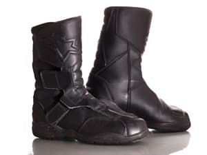 Carters Product shot -motorcycle boots